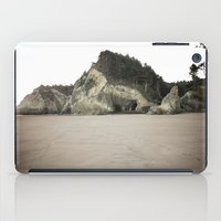 coasters iPad Cases featuring Hug Point, Oregon by A Wandering Soul