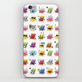 Bookiemoji Party iPhone Skin