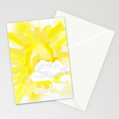 Weather forecast Stationery Cards