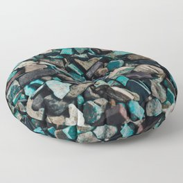 Turquoise & Teal Floor Pillow