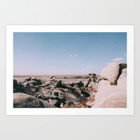 Bisti De-Na-Zin Wilderness New Mexico Landscape I Art Print
