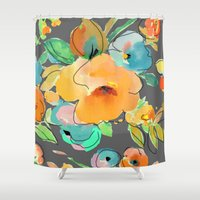 fall Shower Curtains featuring fall by Ariadne