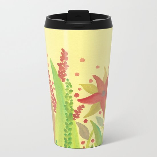 Botanical vibes 11 Metal Travel Mug