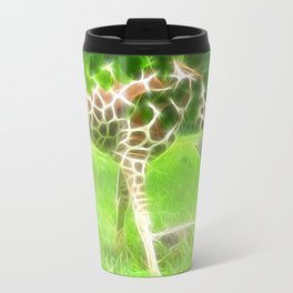 Fractal Giraffe Travel Mug