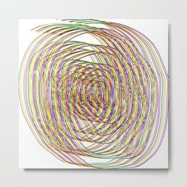 von der bunten Rolle   (A7 B0027) Metal Print