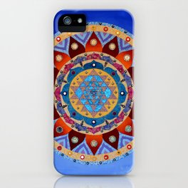 Sri Yantra iPhone Case