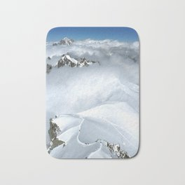French Alps Mountaineers Bath Mat