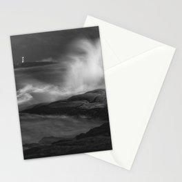 Rising in Moonlight Stationery Cards