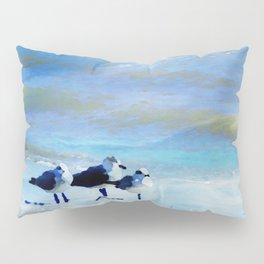 Galveston Seagulls Pillow Sham