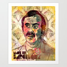 Manuel Art Print