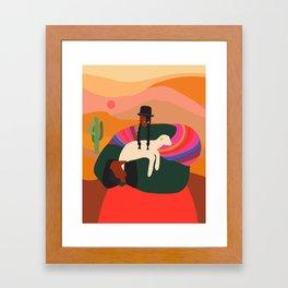 Norte Framed Art Print