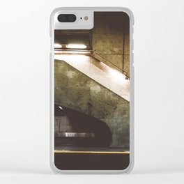 Montreal Subway #2 Clear iPhone Case