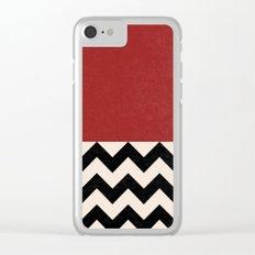 Black Lodge Clear iPhone Case