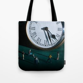 The Clock Watchers Tote Bag