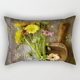 Garden Scoop Rectangular Pillow