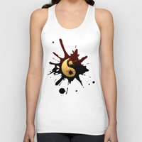 ying yang Tank Tops featuring Ying-Yang by Jessica Jimerson