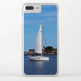 St Augustine Sail Clear iPhone Case