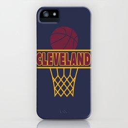 Cleveland iPhone Case