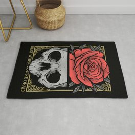 Rest When You're Dead Rug
