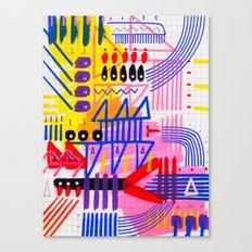 Sinfonia das Cores 1 Canvas Print