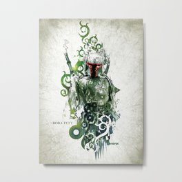 Star Wars _ Boba Fett Metal Print