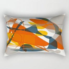 Abstract Bird Rectangular Pillow