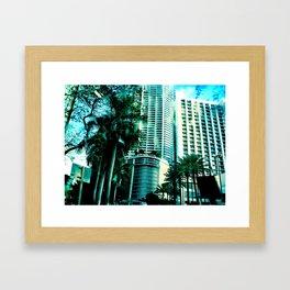 blue city 2 Framed Art Print