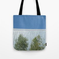 lungs Tote Bags featuring Lungs by Mark Spence