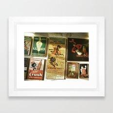 Andaluz Café Framed Art Print
