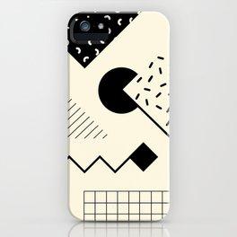 RETROMETRIA MONO 1 iPhone Case