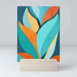 Abstract Tropical Foliage Mini Art Print