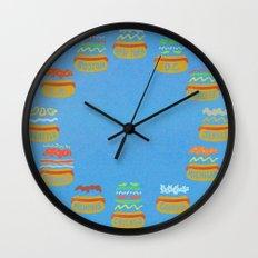 Hot Dogs! Re-do Wall Clock