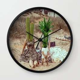Family Roots Wall Clock