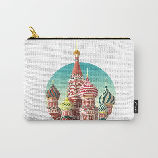 Saint Basil's Cathedral Carry-All Pouch