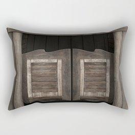 Wild West Cowboy Saloon Rectangular Pillow