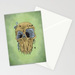 Weathered Skull Stationery Cards