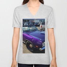 1969 Plum Crazy Purple Coronet Convertible RT Unisex V-Neck