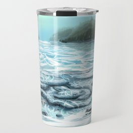 Clear Water in the Mountains Travel Mug
