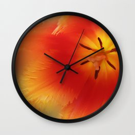 Welcoming Arms Wall Clock