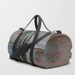Rusty metal gate Duffle Bag