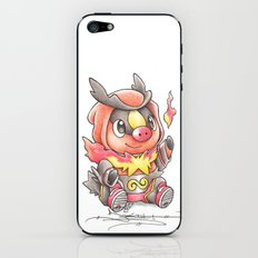 A Fire to be Kindled iPhone & iPod Skin