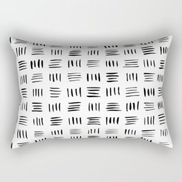 Lines on Lines Rectangular Pillow
