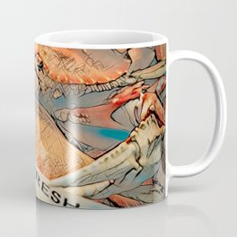Dungeness Crabs at Market - Point Loma, San Diego Coffee Mug