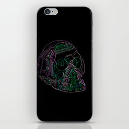 Electric Skull iPhone Skin