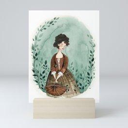 Outlander Claire Fraser Mini Art Print
