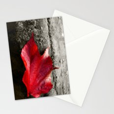 fall leaf Stationery Cards