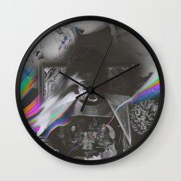 PRETTY VISITORS Wall Clock