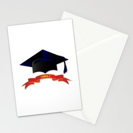 Cap Class Of 2017 Stationery Cards