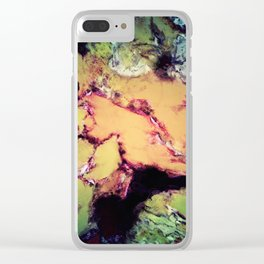 Bathe Clear iPhone Case