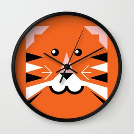 Terry tiger Wall Clock
